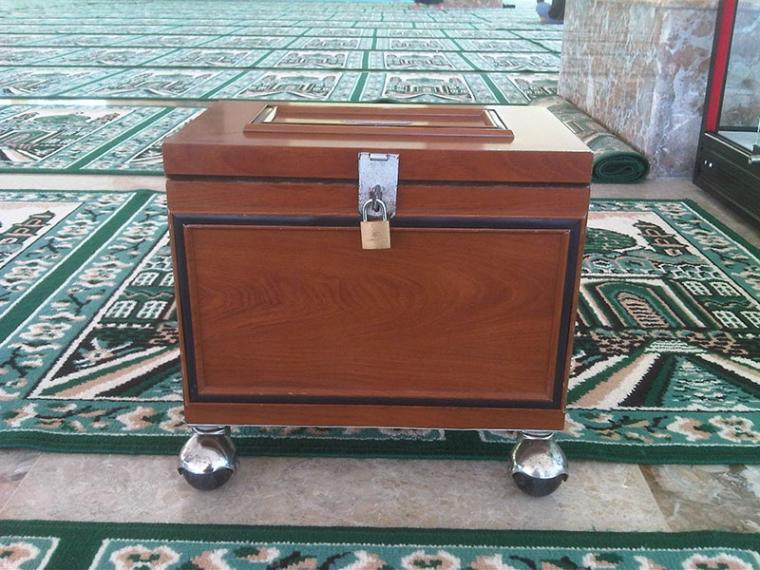 Sang Motivator itu Bernama Kotak Amal Masjid