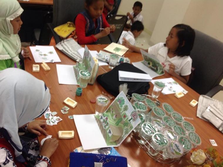 Kelas Kreatif Indonesia: Upaya Membangun Budaya Literasi sejak Dini