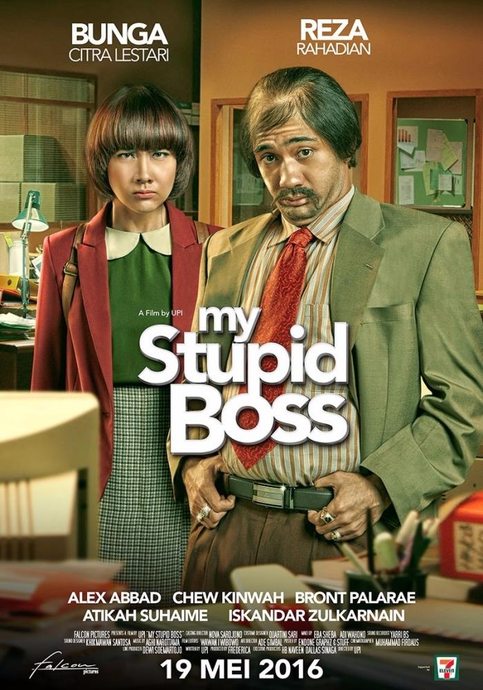 Mengamati Poster My Stupid Boss dari Sisi Desain