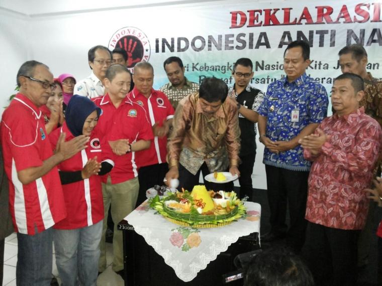 Sismanu Deklarasikan Indonesia Anti Narkoba (INSANO)