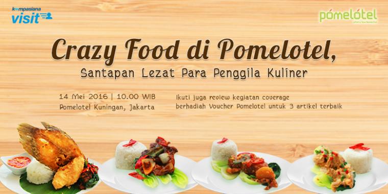 "Inilah Pemenang Review ""Crazy Food"" Pomelotel!"