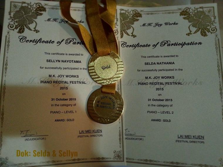 Pergi ke Malaysia, Pulang Bawa Medali Emas