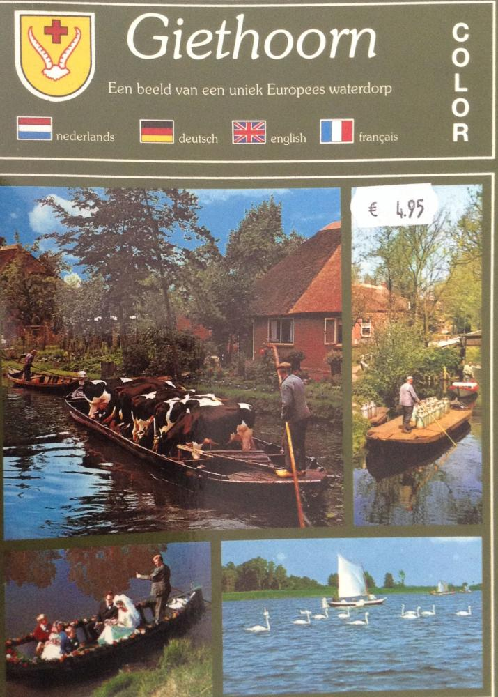 Catatan Lancong #5: Berlayar di Kanal-kanal Giethoorn