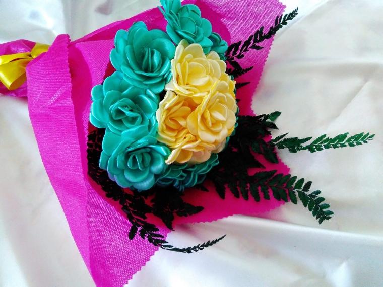 Bunga Pita Satin  Bukan Cuma Cantik f72383f1aa