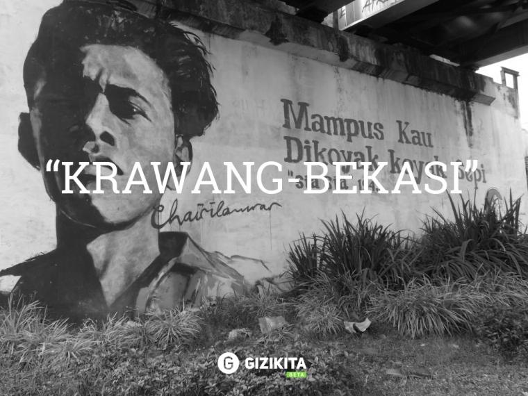 Puisi Chairil Anwar Aku dan Karawang Bekasi