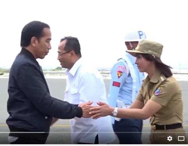 Jokowi dan Kunjungannya ke Miangas