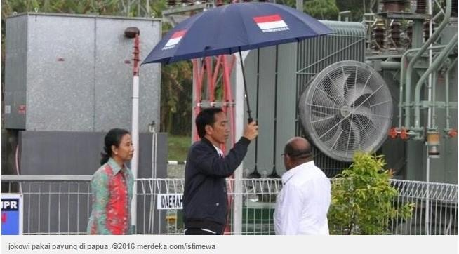 Kemustahilan yang Dilakukan Presiden Jokowi di Papua