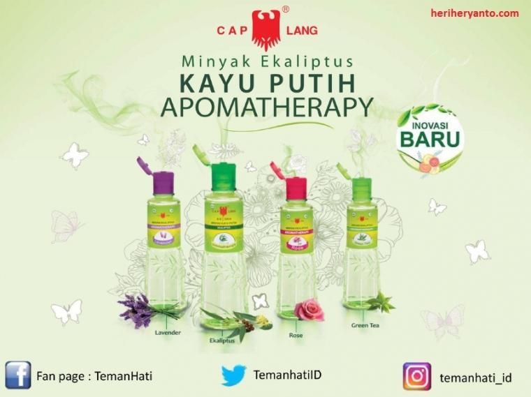 Minyak Kayu Putih Aromatherapy Cap Lang, Gabungan Aroma dan Kehangatannya Siap Melegenda Kembali