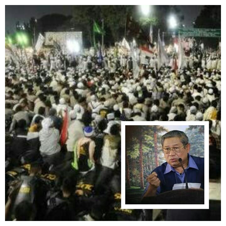 Siapa Tuduh SBY Dalangi Demo Goyang Jokowi?