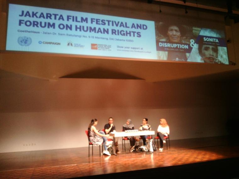 "Film Sonita Tayang dalam ""Jakarta Film Festival and Forum On Human Rights"""
