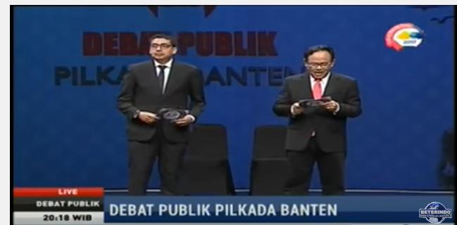 Debat Pilkada Banten, Miskin Gagasan dan Normatif
