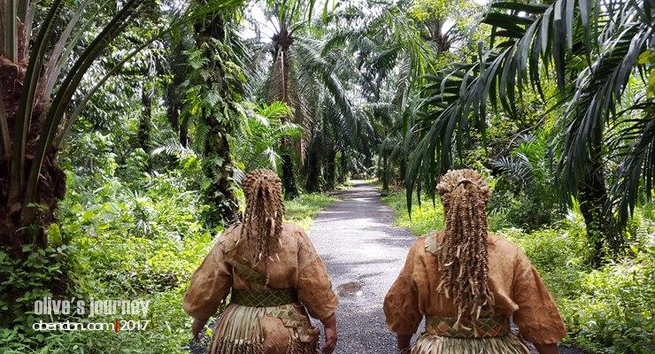 Pulau Carey, Kampung Mistis Suku Mah Meri