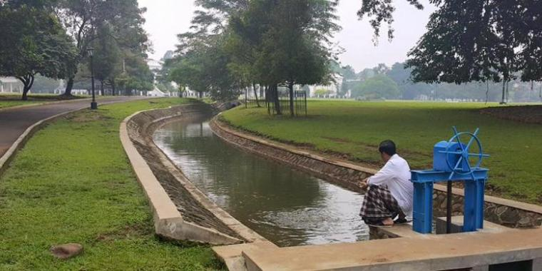 Vlog Presiden Jokowi Ngaploki Adik Iparnya