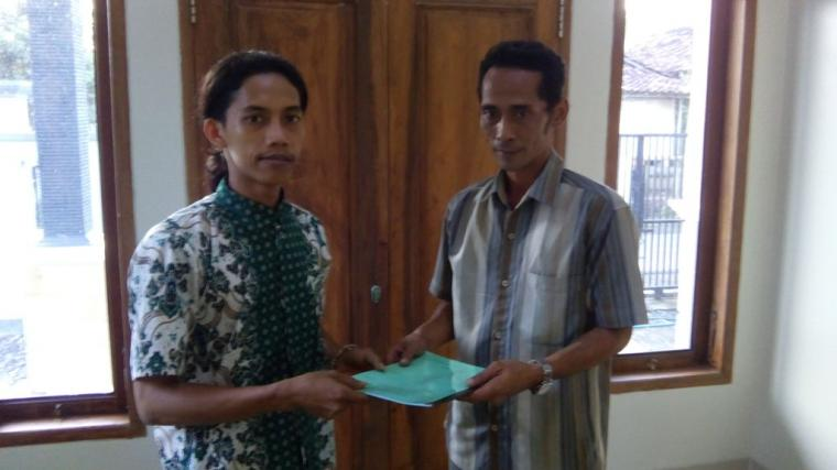 Aan Setiawan, Kades Muda Dukung Banom NU