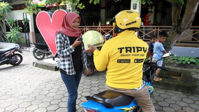 Tripy: Aplikasi Pemesanan Transportasi Secara Online di Kota Pontianak