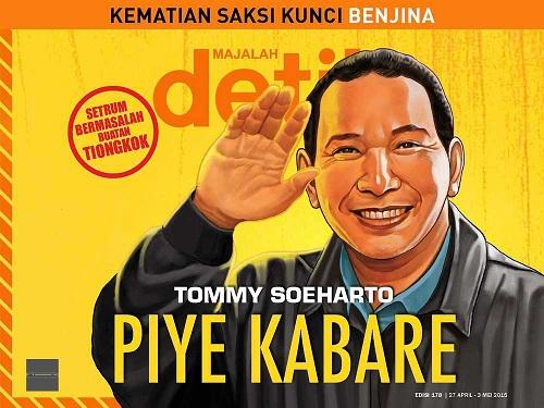 Tommy Soeharto Capres 2019? Siapa Takut?