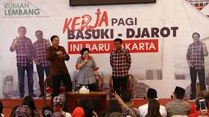 Pidato Kosong Megawati untuk Memenangkan Ahok-Djarot
