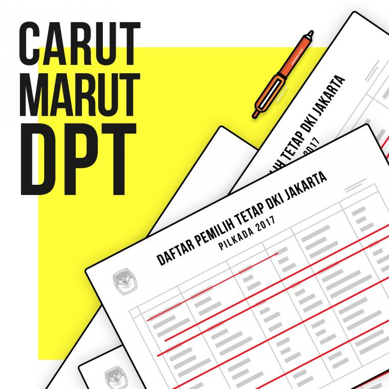 Carut Marutnya DPT Pilkada DKI 2017
