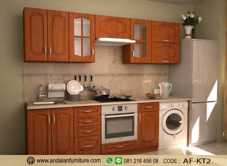 Model Gambar Kitchen Set Lemari Dapur Minimalis