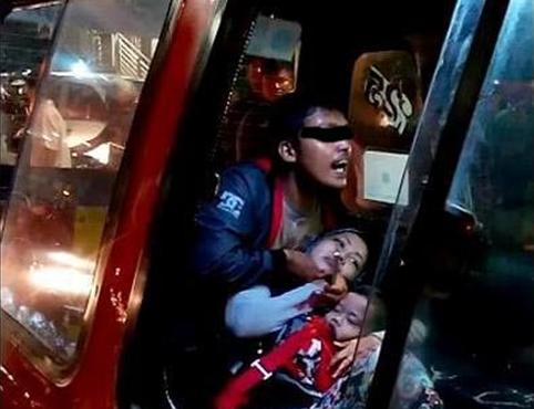 Kemarahan Penyandera Ibu dan Anak di Angkot Jakarta Timur