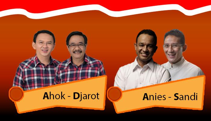 Pemenang Pilkada Jakarta Putaran Dua