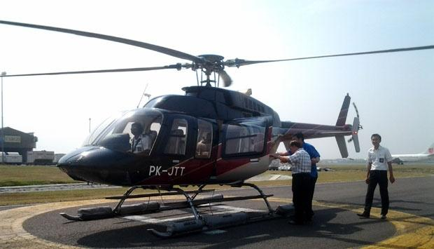 Anies Baswedan ke Balai Kota Naik Helikopter?