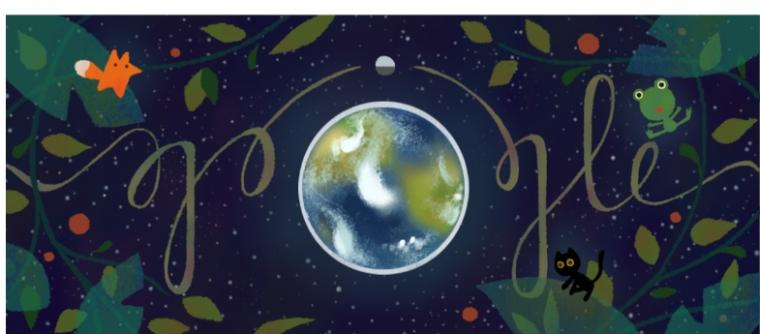 Google Doodle Peringati Hari Bumi 2017