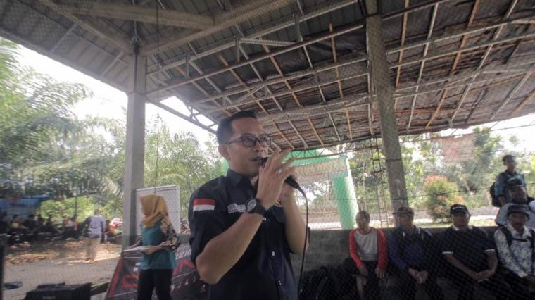 Deni Ribowo Cetak Atlet Harumkan Bumi Ramik Ragom