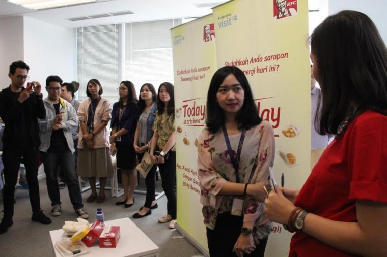 Berbagi Energi di Lazada Indonesia dalam Kompasiana Visit bersama KFC!