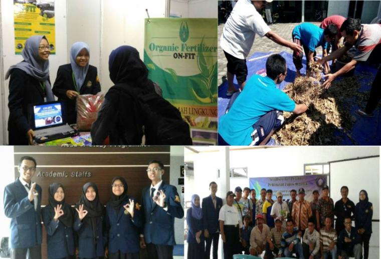 ON-FIT, Inovasi Pupuk Organik Jerami Padi Karya Mahasiswa UB