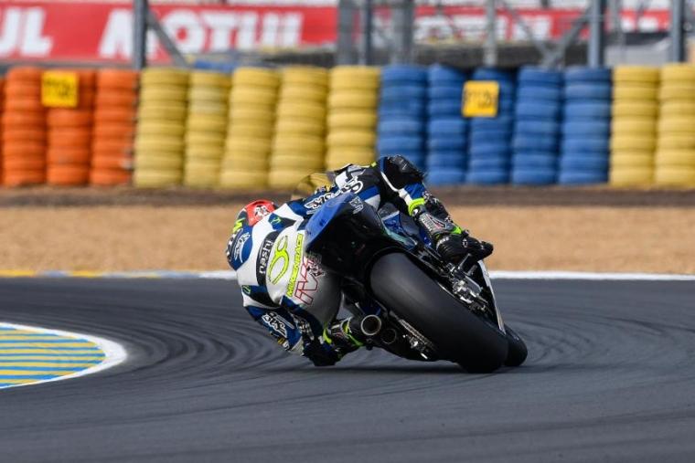 SAG Racing Team Moto2 Memakai Double Tail Pipe Exhaust?