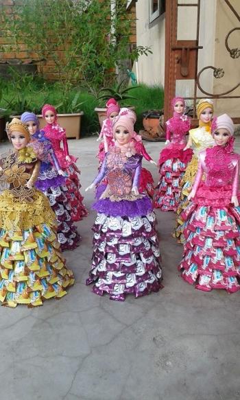 Ramadan Peluang Bisnis Barbie Candy Muslimah Oleh Wenny Ira R
