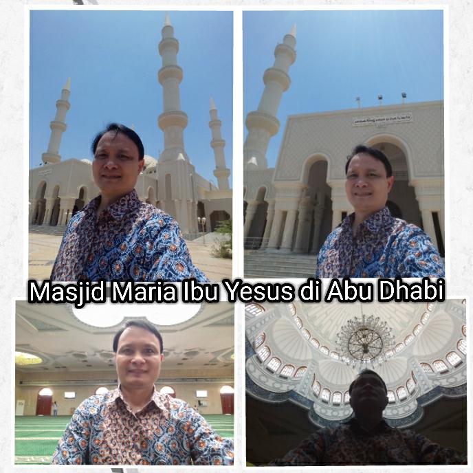"Masjid di Abu Dhabi Berganti Nama Menjadi ""Maria Ibu Yesus"""