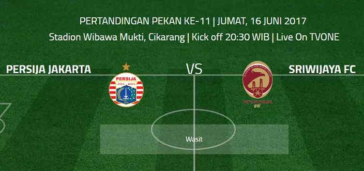 Kalahkan Sriwijaya FC, Persija Melesat ke Posisi Empat
