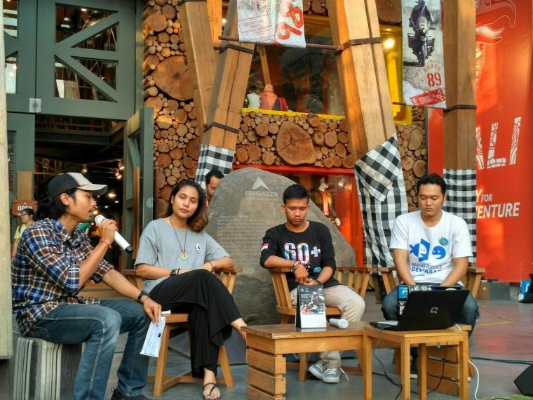 Serunya Ngabuburit Bareng Komunitas Konservasi Lingkungan