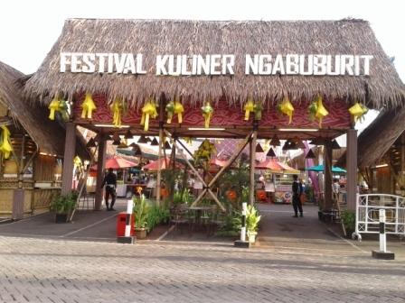 Keseruan Festival Kuliner Ngabuburit La Piazza Kental Khas Nusantara