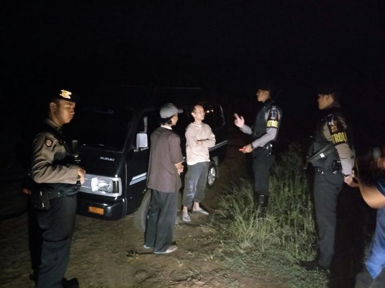 Antisipasi Aksi Kriminalitas, Sabhara Polres Kuningan Lakukan Patroli Malam