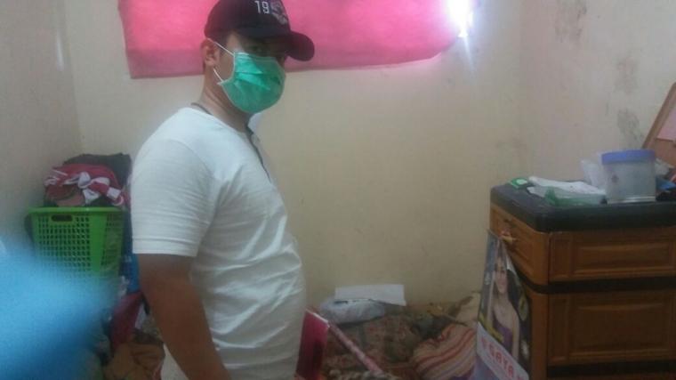 Sat Reskrim Polres Kuningan Lakukan Olah TKP Temu Mayat di Lamepayung Kuningan