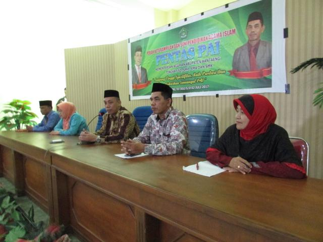 Kemenag Bantaeng Bertekad Pertahankan Juara Umum Pentas PAI Tingkat Provinsi