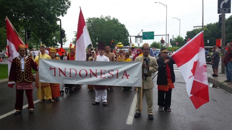 Yuk Lihat Kebhinnekaan Indonesia Dalam Parade Canada Day 2017