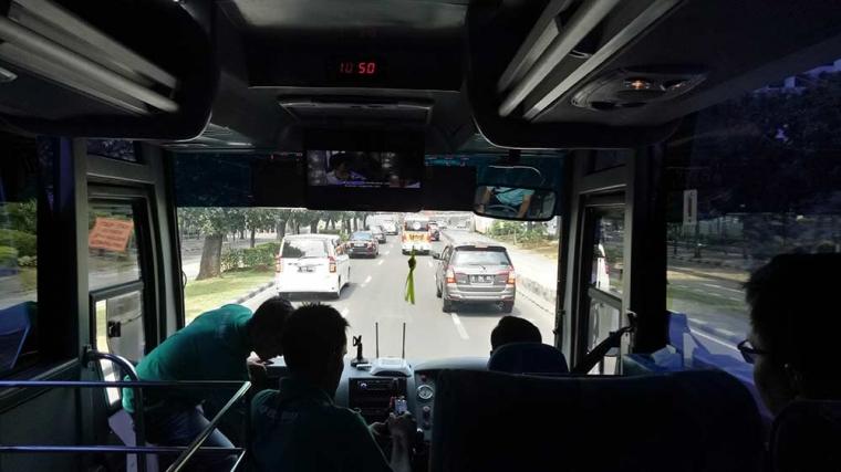 Mencicipi Big Bird JA Connection, Alternatif Transportasi Bandara - Hotel