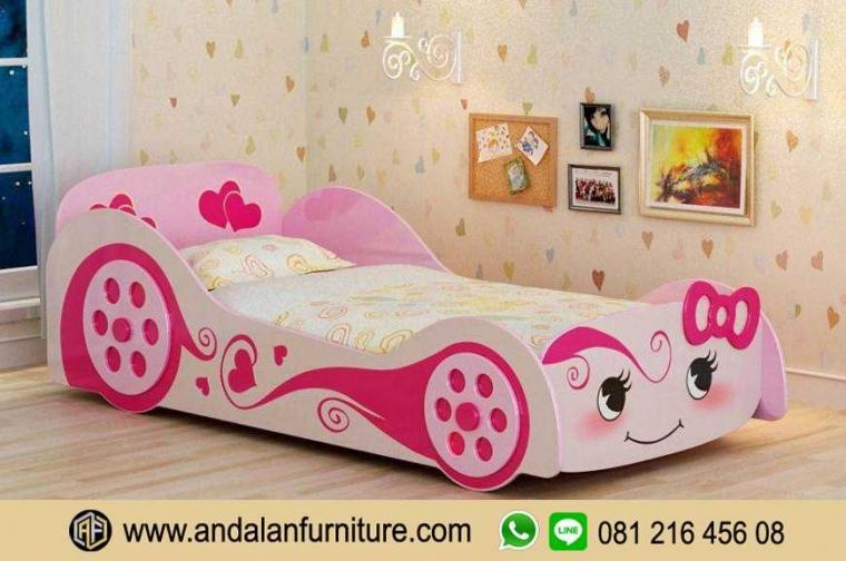 Tempat Tidur Mobil Anak Ranjang Kasur