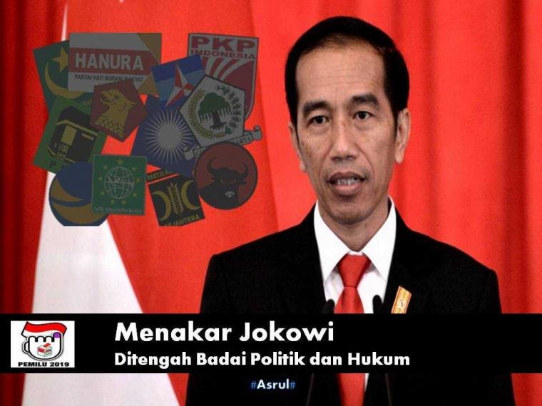 Menakar Jokowi di Tengah Badai Politik dan Hukum