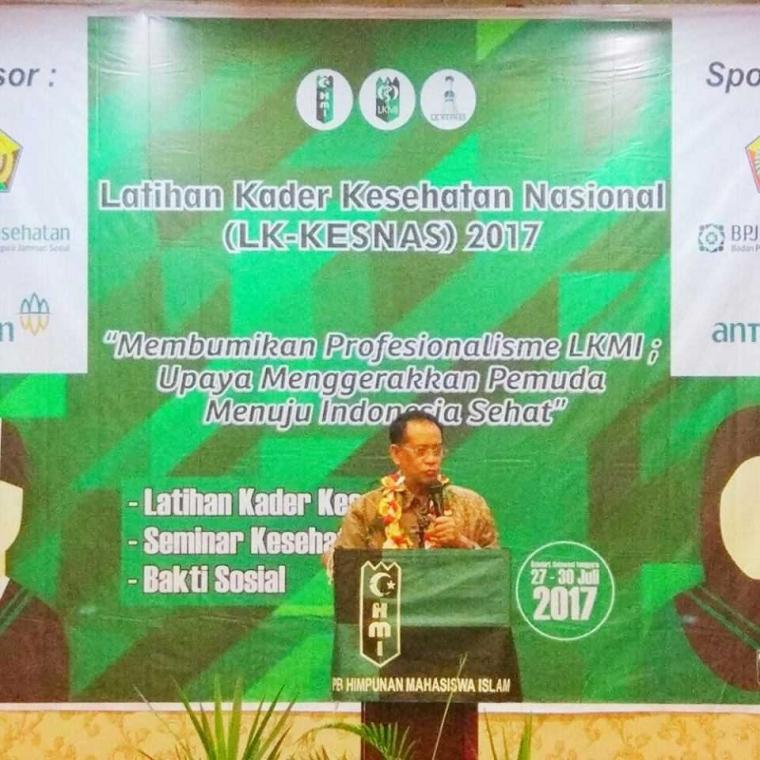 Hadiri LK-Kesnas HMI, Prof Masihu Tekankan Kesejahteraan Desa