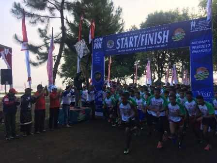 Lari Lintas Alam dan Konservasi Lingkungan di Buyan Jungle Run II