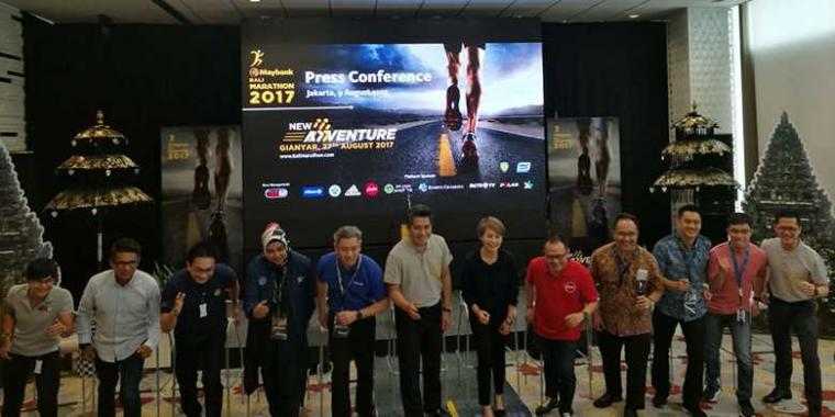 Maybank Bali Marathon 2017 Perkenalkan Konsep dan Rute Baru