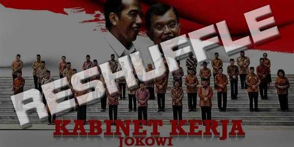 Reshuffle dan Konsolidasi Kekuatan ala Jokowi