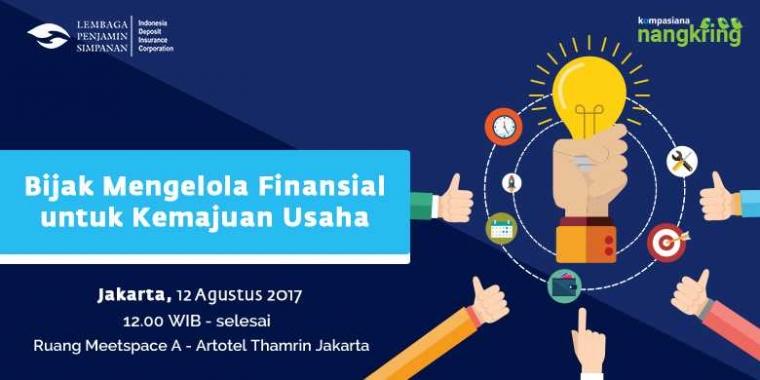 Bijak Mengelola Finansial untuk Kemajuan Usaha di Nangkring LPS Jakarta