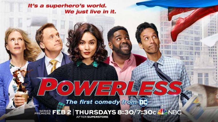 [Resensi TV Series] Powerless: Hidup Normal di Dunia Superhero