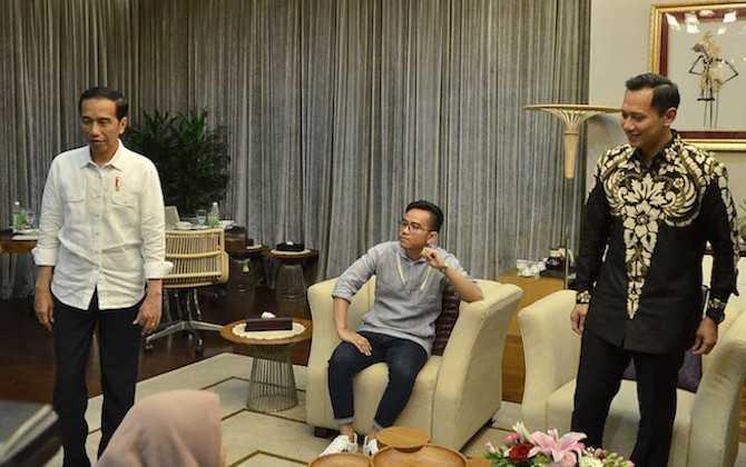 Agus Yudhoyono Bertemu Jokowi untuk Jaga Suhu Kamar